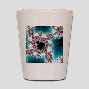 Mandelbrot fractal Shot Glass