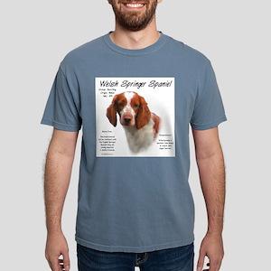 Welsh Springer Spaniel Mens Comfort Colors Shirt