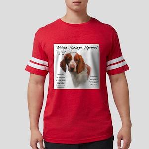 Welsh Springer Spaniel Mens Football Shirt