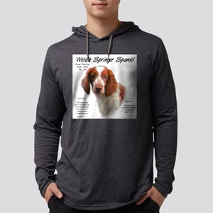 Welsh Springer Spaniel Mens Hooded Shirt