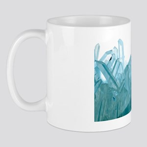 Quartz crystals Mug