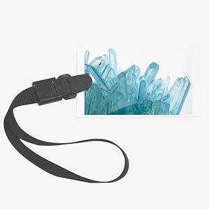 Quartz crystals Large Luggage Tag
