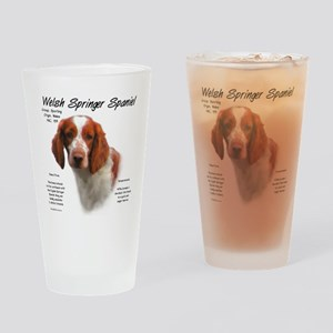 Welsh Springer Spaniel Drinking Glass