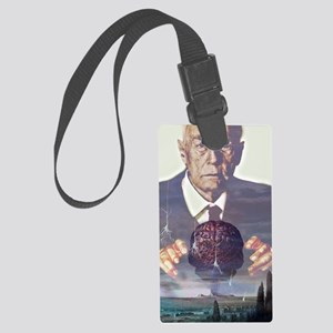 Alzheimer's disease Large Luggage Tag