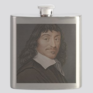 Rene Descartes, French mathematician Flask