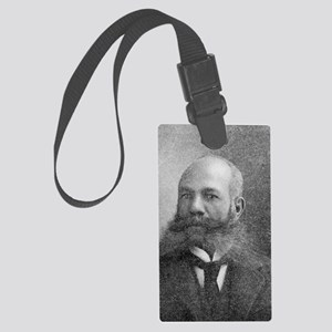 Alexander Miles, US inventor Large Luggage Tag