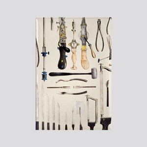 Surgical instruments for use on b Rectangle Magnet