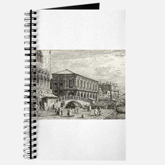 Le Preston. V - Canaletto - 1746 Journal