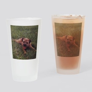 BT puppy Drinking Glass