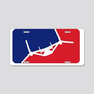 Major League Assault Large Aluminum License Plate