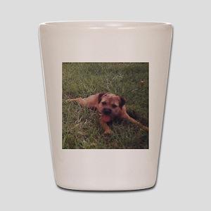 BT puppy Shot Glass