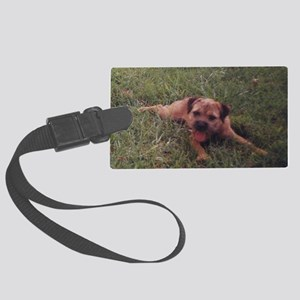 BT puppy Large Luggage Tag