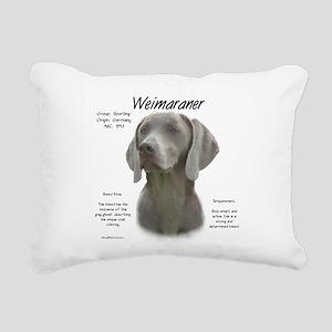 Weimaraner Rectangular Canvas Pillow