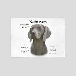 Weimaraner 5'x7'Area Rug