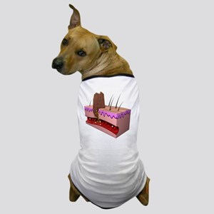 Wound infection, artwork Dog T-Shirt