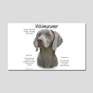Weimaraner Car Magnet 20 x 12