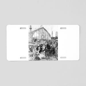 Le Palais de Machines - Auguste Lapere - 1889 Alum
