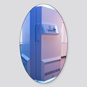 Phototherapy booth Sticker (Oval)