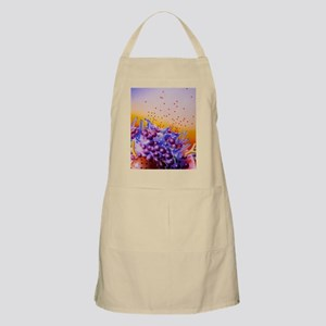 Artwork of mast cells in an allergic respons Apron
