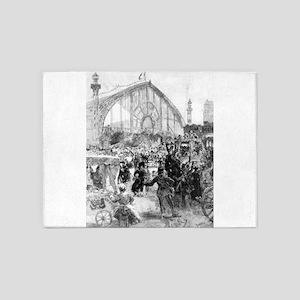 Le Palais de Machines - Auguste Lapere - 1889 5'x7
