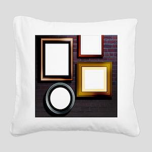 Alzheimer's disease, conceptu Square Canvas Pillow