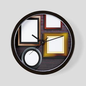 Alzheimer's disease, conceptual image Wall Clock