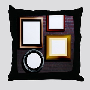 Alzheimer's disease, conceptual image Throw Pillow