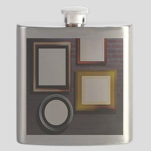Alzheimer's disease, conceptual image Flask