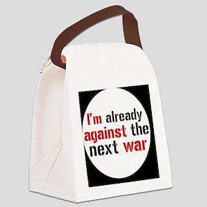 against war Canvas Lunch Bag