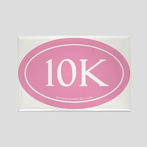 10K Run Achievement Rectangle Magnet