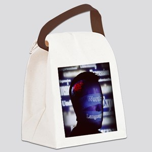 Aphasia artwork Canvas Lunch Bag