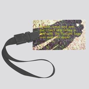 Falling in love with The Twiligh Large Luggage Tag
