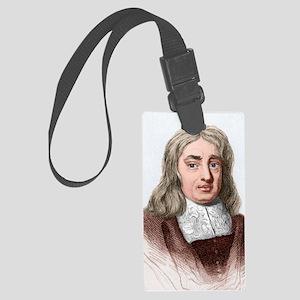 Thomas Sydenham, English physici Large Luggage Tag