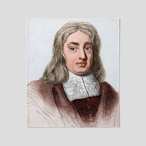 Thomas Sydenham, English physician Throw Blanket