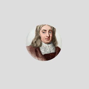 Thomas Sydenham, English physician Mini Button