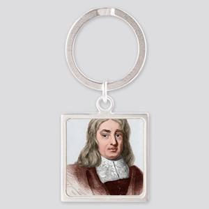 Thomas Sydenham, English physician Square Keychain