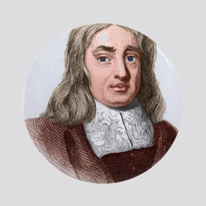 Thomas Sydenham, English physician Round Ornament