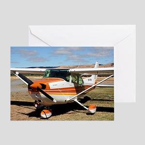 Plane: high wing Greeting Card