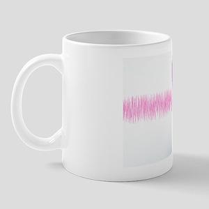 White noise, conceptual artwork Mug