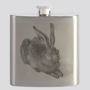 Young hare, by Durer Flask