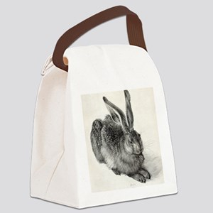 Young hare, by Durer Canvas Lunch Bag