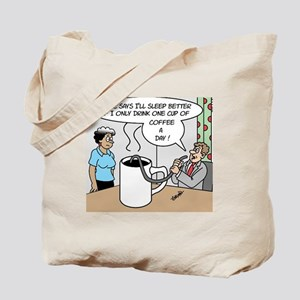 One Cup Of Coffee Tote Bag