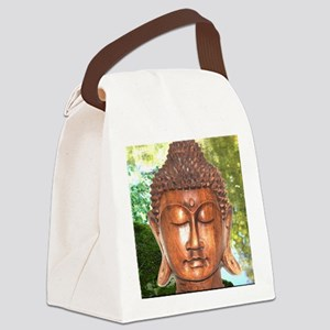 compassion becomes real Canvas Lunch Bag