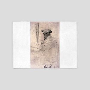 Le graveur, Joseph Tourney - Edgar Degas - 1856 5'