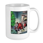 Santa burnt Mugs