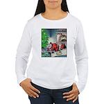 Santa burnt Long Sleeve T-Shirt