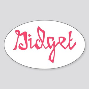 Gidget Sticker (Oval)
