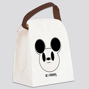Be Curious Canvas Lunch Bag