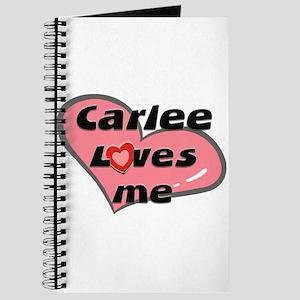 carlee loves me Journal