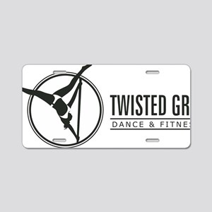 Twisted Grip Aluminum License Plate